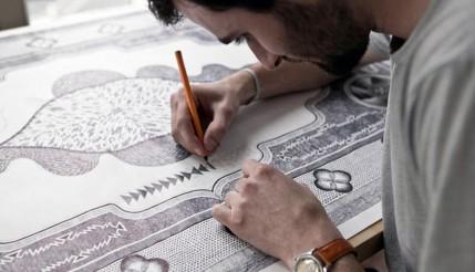 Tapeçaria ilustrada