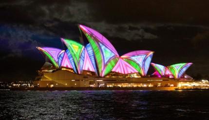 Impressionante projeção mapeada 3D na Ópera de Sydney