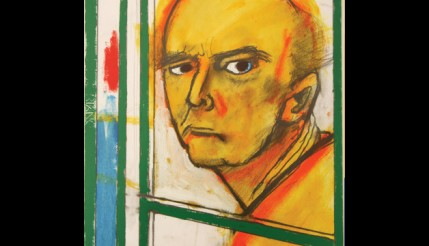 Pintor com Alzheimer faz autorretratos registrando o avanço de sua doença