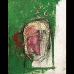 Erased Self-Portrait, óleo sobre tela, 45.5×35.5cm