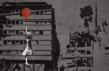 Menina com balão vermelho de Banksy é usada em campanha contra a guerra na Síria